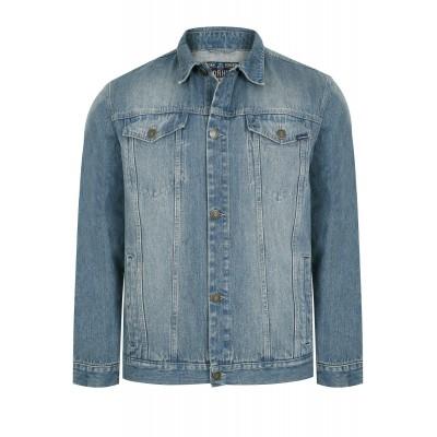 Jachetă albastră Denim